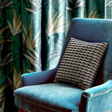 Jane Churchill Upholstery Velvet