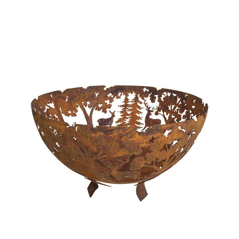 Deer Fire Pit Bowl