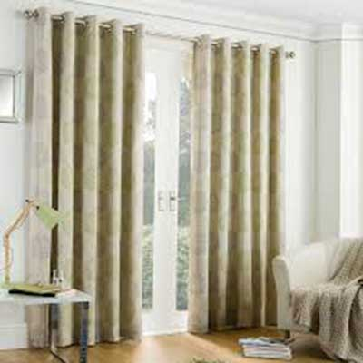 Eyelet curtain headers